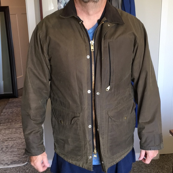 812afb96c Filson Covercloth Mile Marker coat with vest